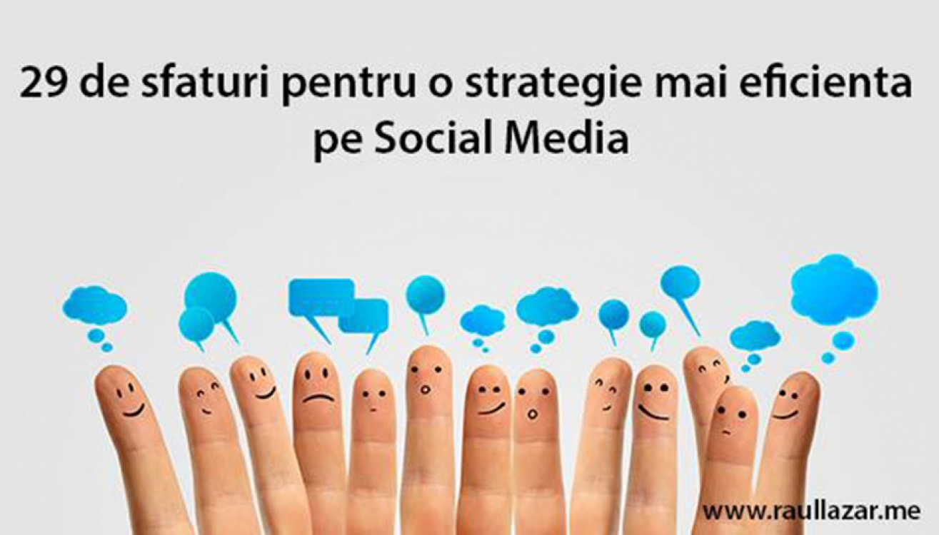29 de sfaturi in social media
