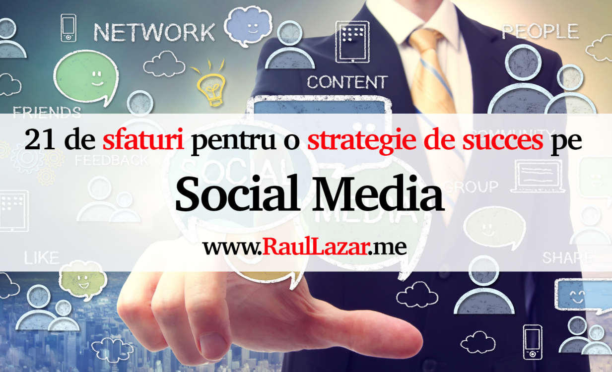 Strategii vanzari social media