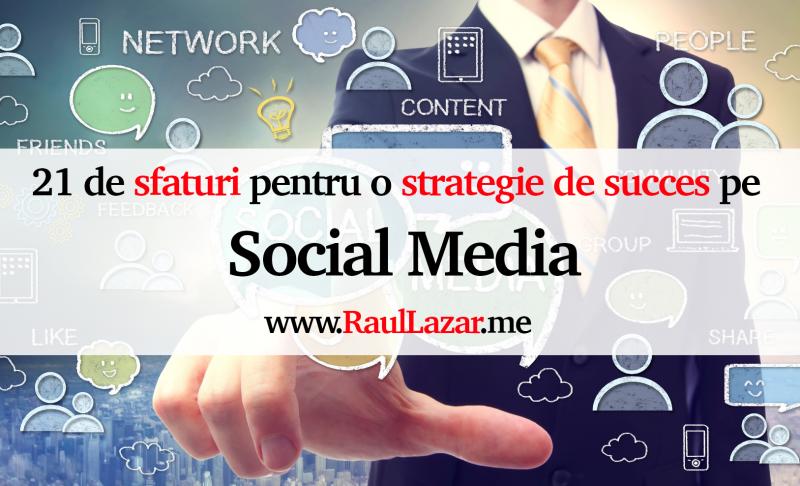 Strategii vanzari social media